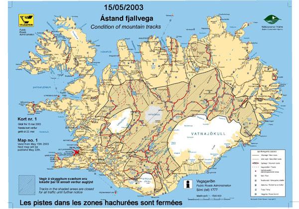 Distance Islande France